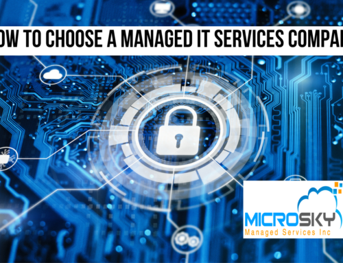 How to Choose a Managed IT Services Company