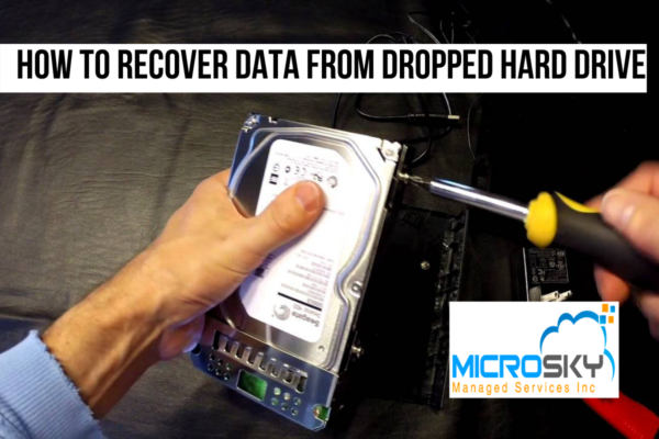 How to Recover Data from Dropped Hard Drive