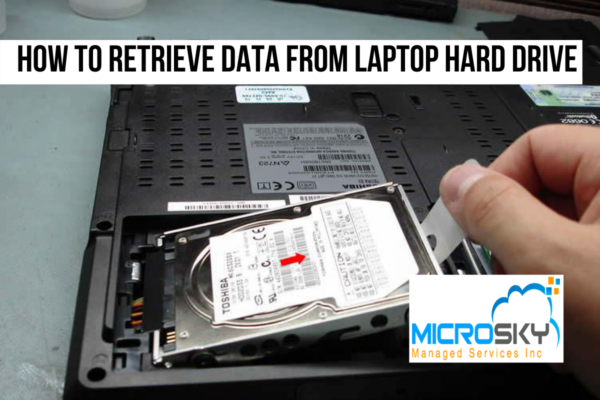 How to Retrieve Data from Laptop Hard Drive
