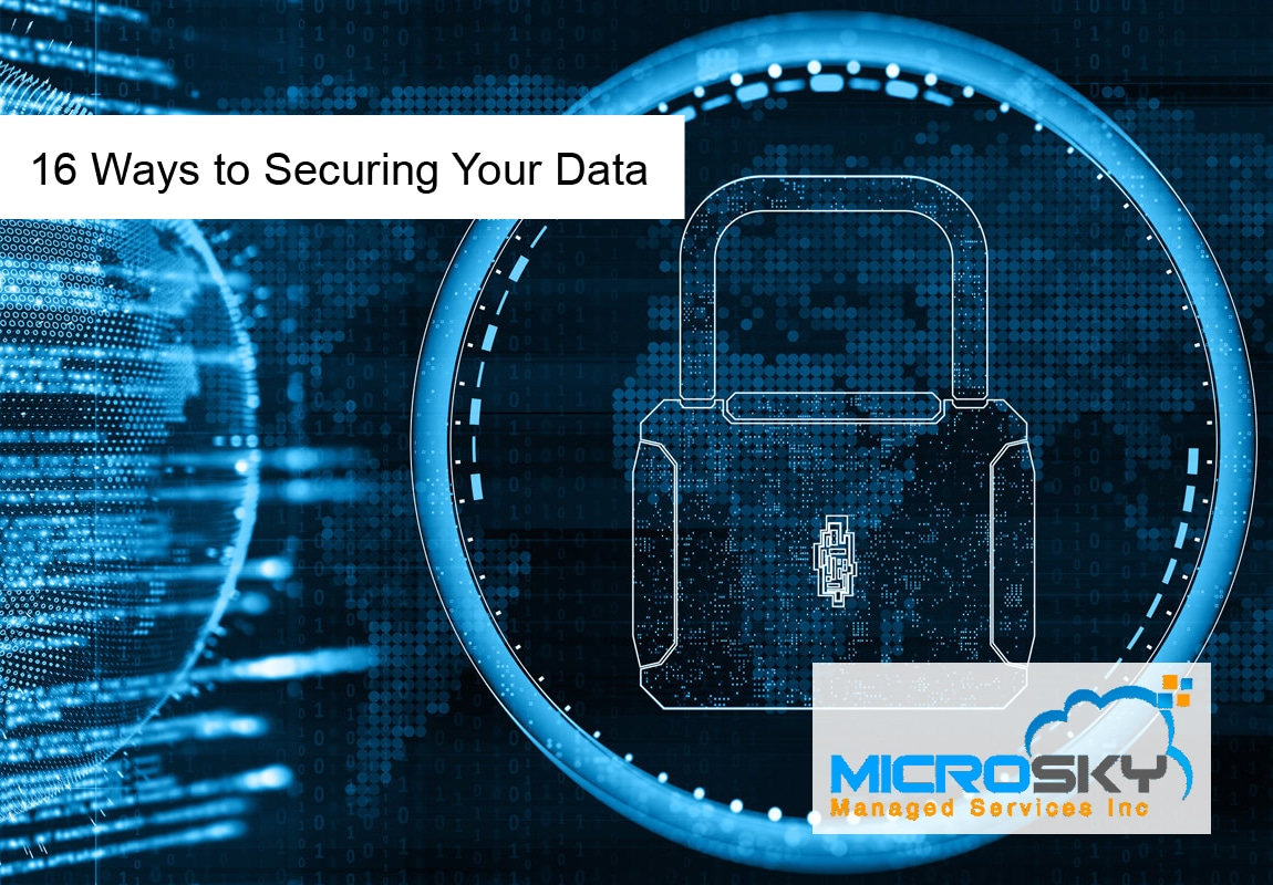 16 Ways to Securing Your Data