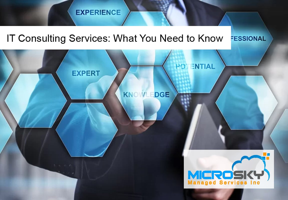 IT Consulting Services: What You Need to Know