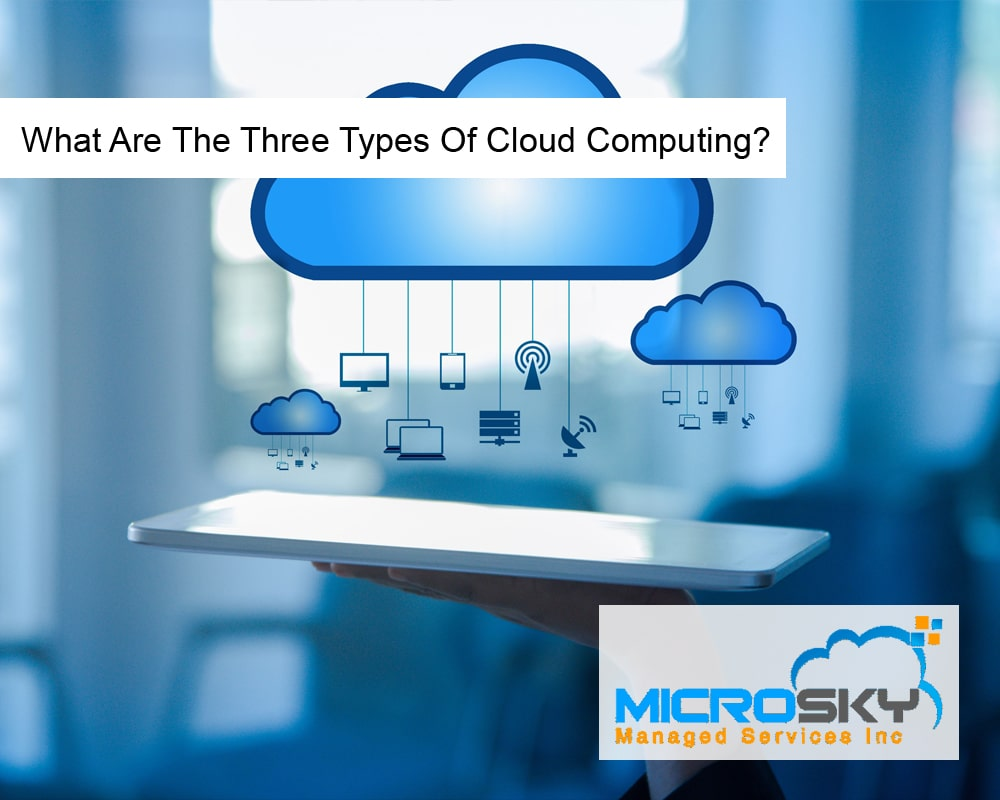 What Are The Three Types Of Cloud Computing?